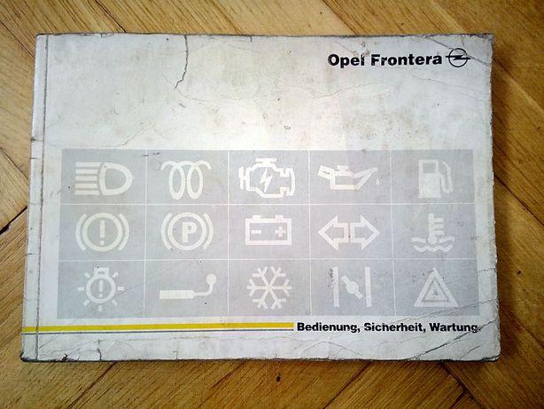 Opel Frontera - instrukcja obsługi