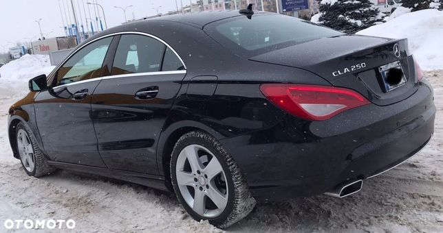Mercedes-Benz CLA Faktura VAT 23% MERCEDES BENZ CLA 250 211 KM FULL C117 W117