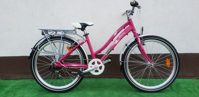 """Kross Młodzieżowy Rower Dla Dziewczynki 24"""" Sklep Raty Dowóz"""
