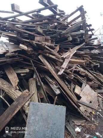 Drewno na opał oddam za darmo
