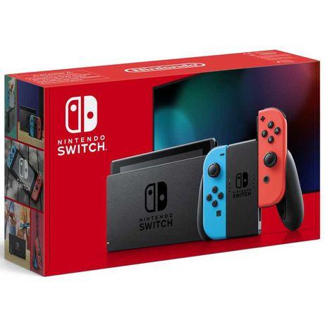 VENDO Nintendo Switch V2 Nova e Selada