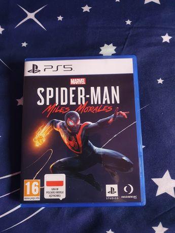 SPIDER-MAN MILES MORALES PS5 Oferuję do sprzedania lub zamiany