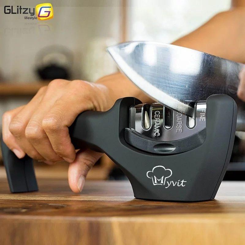 Точилка Myvit для заточки ножей  3 ступени заточки
