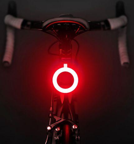 Фонарь велосипедный задний на аккумуляторе, фара задняя стоп