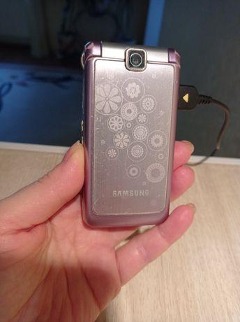 Зарядка +Телефон раскладушка Samsung s360
