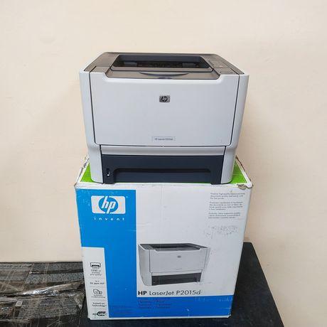 HP LJ P2015dn.Год  гарантия. Сетевой лазерный принтер двусторонний.