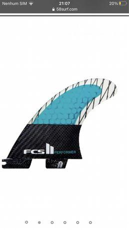 Vendo quilhas FCS 2 Performer XS