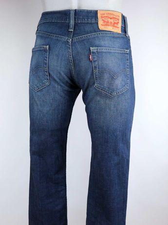 Levis 511 spodnie jeansy W30 L34 pas 2 x 41 cm
