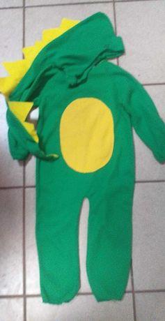 Strój kostium krokodyl
