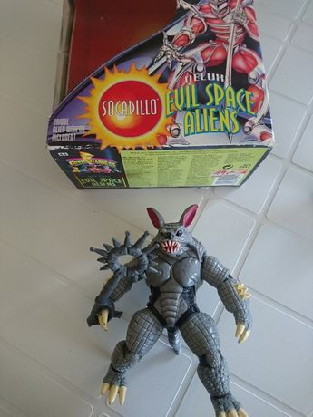 Boneco - Socadillo - Power Rangers Evil Space Aliens - com caixa