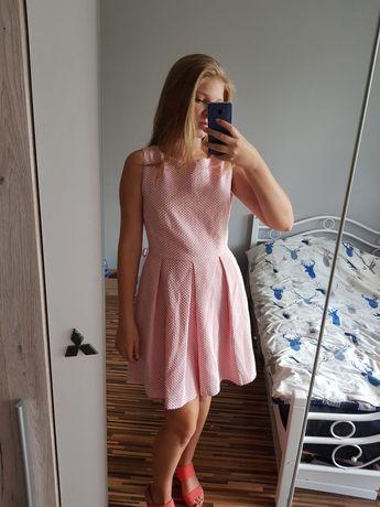 Krótka, rozkloszowana Sukienka