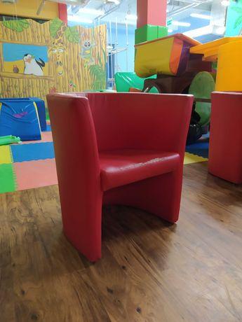 Fotele Czerwone - Ekoskóra