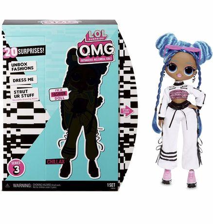 Кукла ЛОЛ Леди Релакс L.O.L. Surprise! O.M.G. Series 3 Chillax
