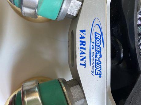 Botas hoquei patins Replic N 34 com chassis Variant n 12
