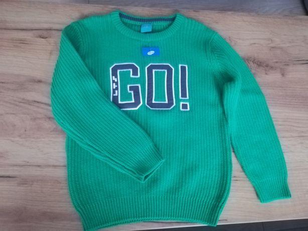 Sweterek chłopięcy 116