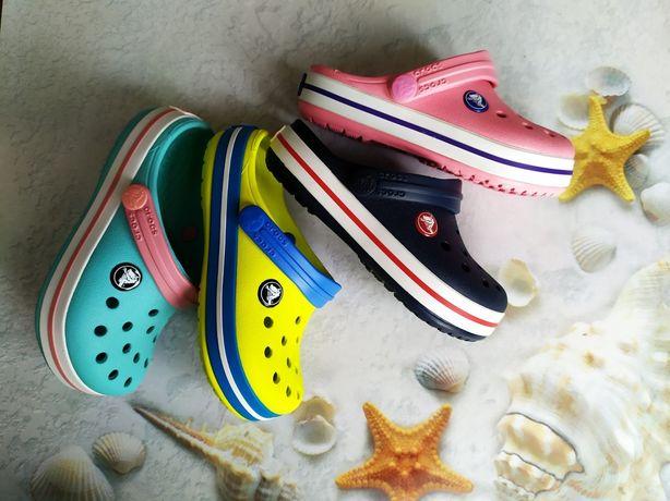 Подростковые Кроксы Kids Crocband для мальчиков и девочек
