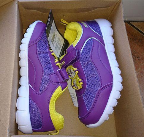 32 adidasy martes buty sportowe dziewczynka nowe wkł. 20cm fioletowe