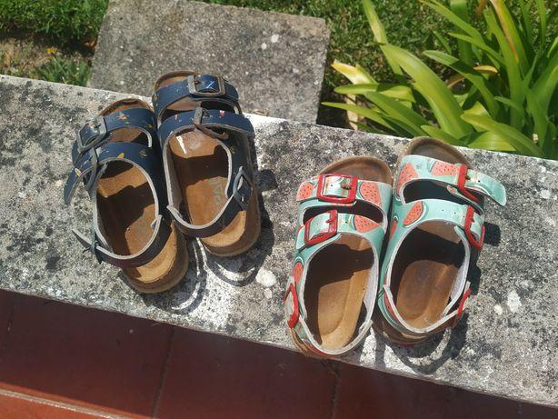 Paez sandálias e havaianas criança originais 26 e 27