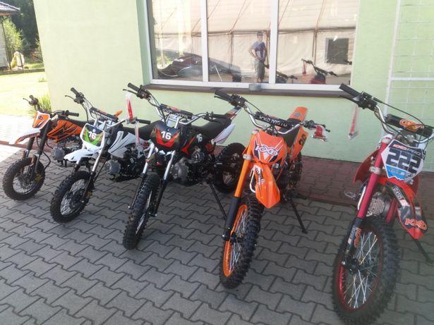 Cross 125 cc dla dzieci raty transport