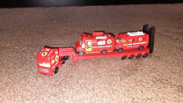 Автоперевозка пожарных машин.