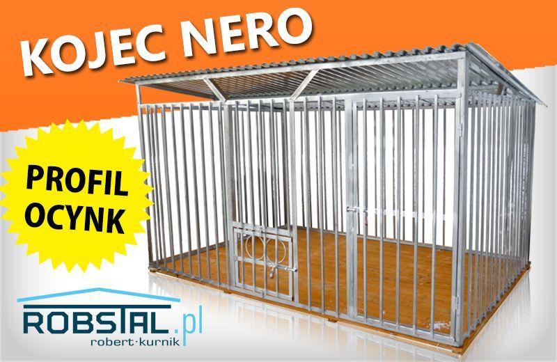 Kojec dla psa NERO mocny i bezpieczny klatki kojce legowiska Rzeszów - image 1