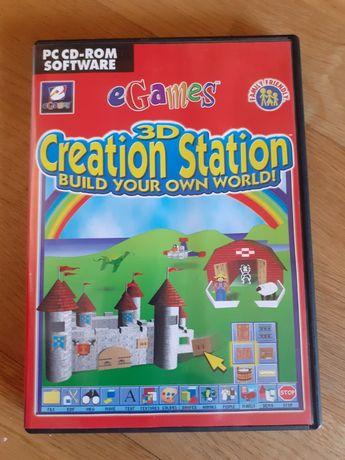 Jogo infantil para PC - CREAT STATION
