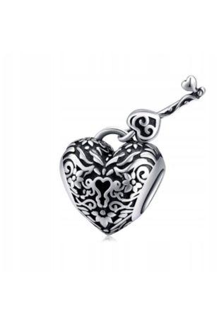 Charms do PANDORA klucz do serca srebro