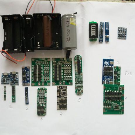 Аккумулятор 18650 32700 литий железо LiFe, холдер плата защиты bms BMS