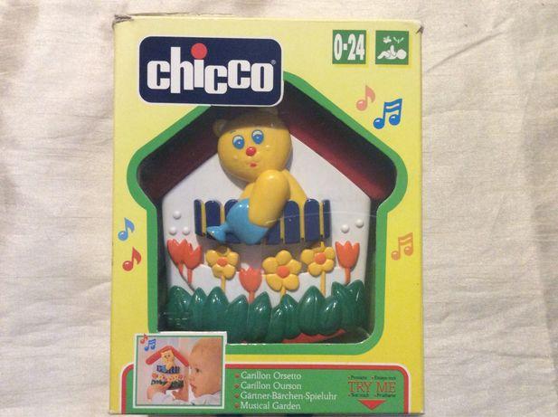 """Детская игрушка-Музыкальный домик """"Мишка-садовник"""""""