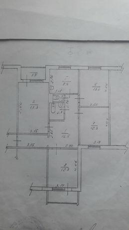 Квартира 4-кімнатна