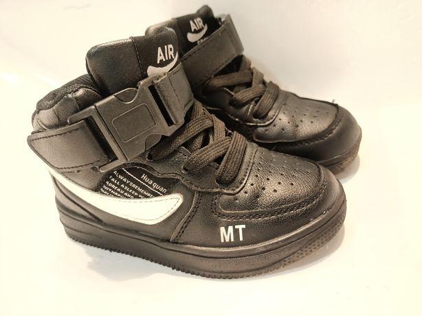 Хайтопы 16 см, 26 размер/ ботинки / сапоги для мальчика демисезон