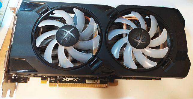 Геймерская видеокарта AMD Radeon XFX rx480 8gb
