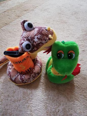 Игрушка змея и змея музыкальная копилка