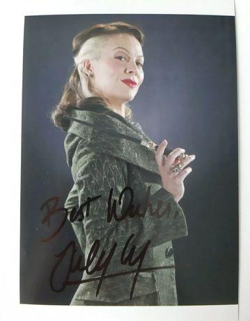 Helen McCrory autograf Malfoy Harry Potter Peaky Blinders Potter