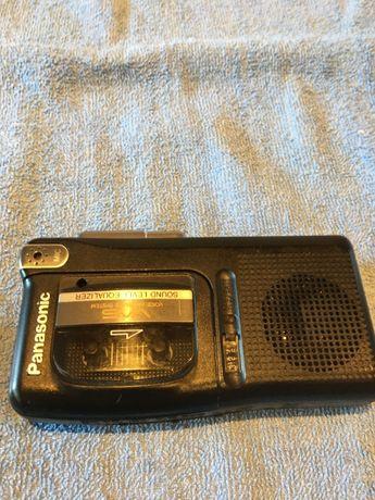 Sprzedam Dyktafon kasetowy Panasonic model RN-502 z kasetami