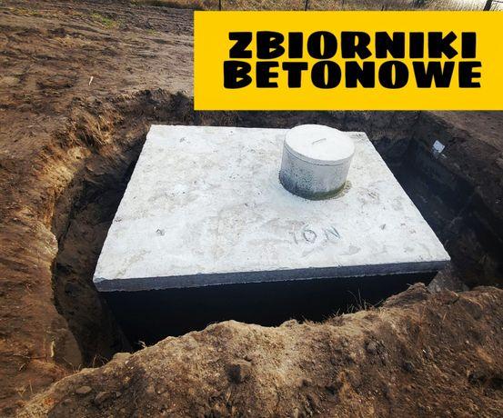 Szambo betonowe 12m3 zbiornik producent montaż dojazd szybko