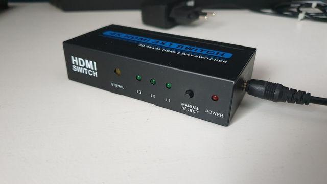 Switch 3x HDMI 4K