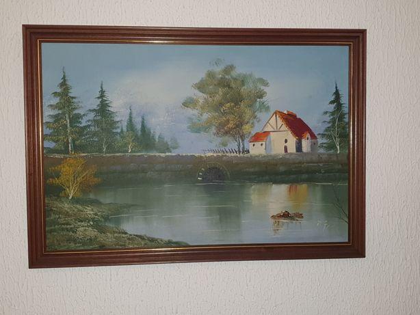 Quadro pintado à mão