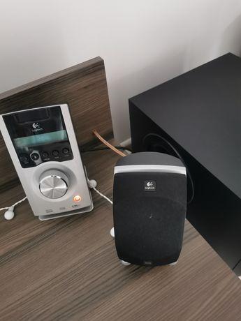 Głośniki Logitech Z-5500 5.1 THX stan bdb+