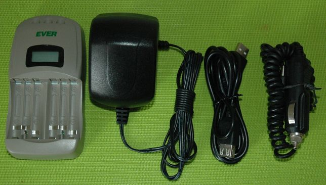 Ładowarka do akumulatorków AA i AAA model E500 E-500