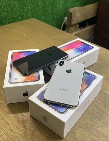 Магазин iphone X 64 256 space gray neverlock Original Гарантия 6мес