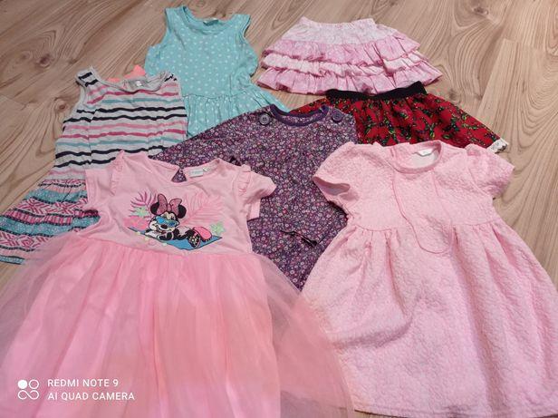 Sukieneczki dla dziewczynki rozm.80-86
