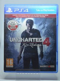 Gra na PS4 Uncharted 4 Kres Złodzieja PL Lombard Tarnów