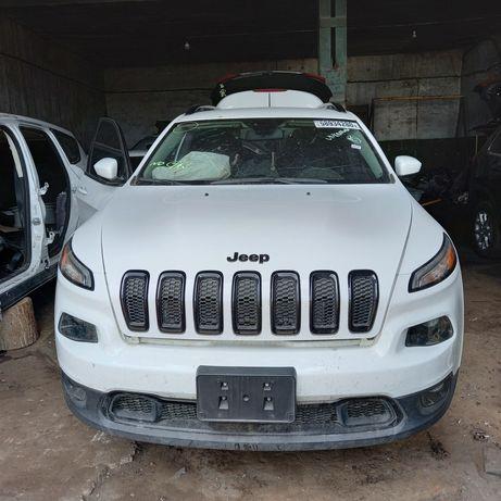 Jeep Cherokee разборка джипа чероки на запчасти, кузов ходовая салон.