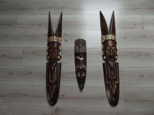 Maski afrykańskie - Wyjątkowa kompozycja