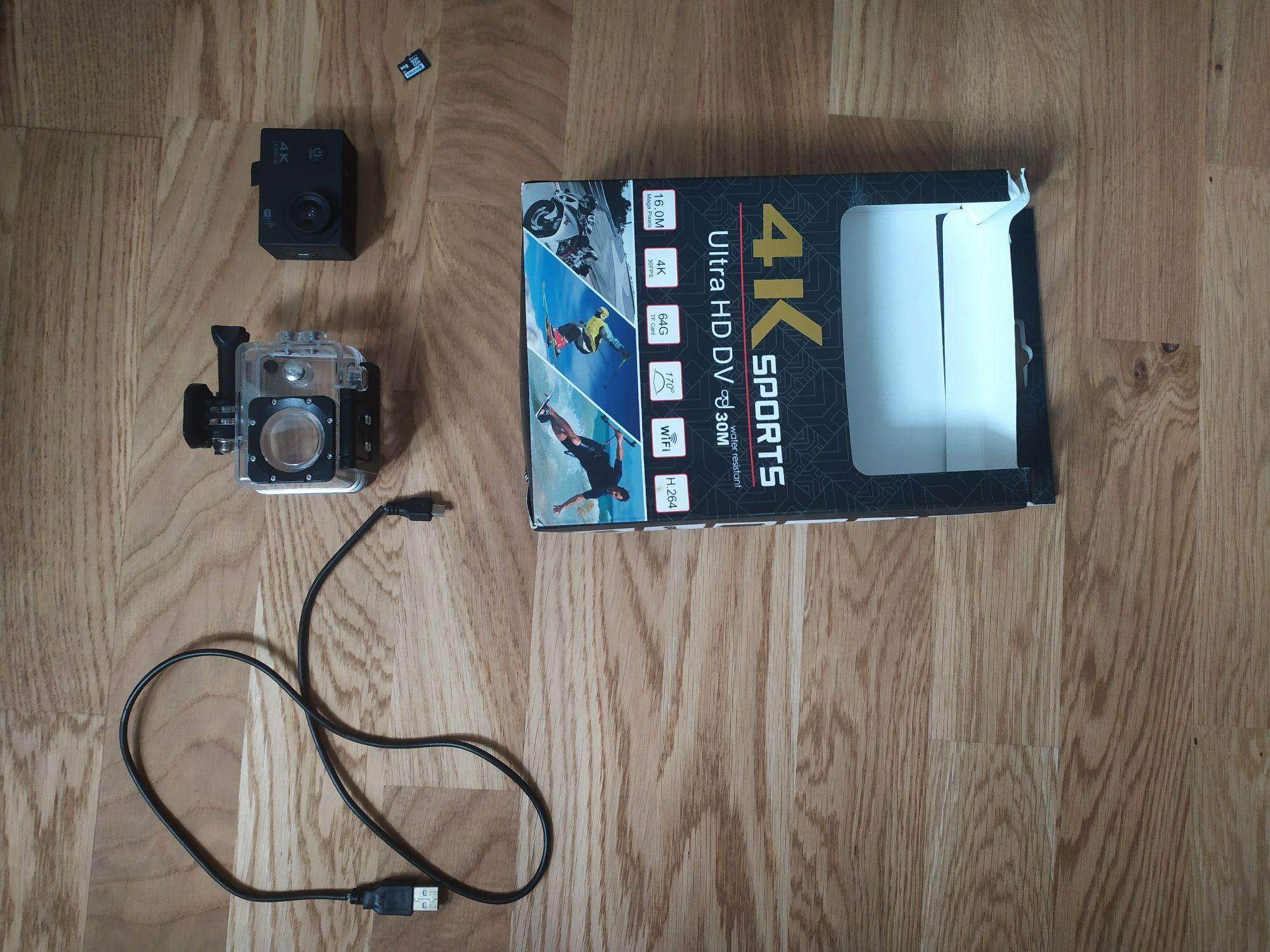 Kamera sportowa 4K sports Ultra HD DV