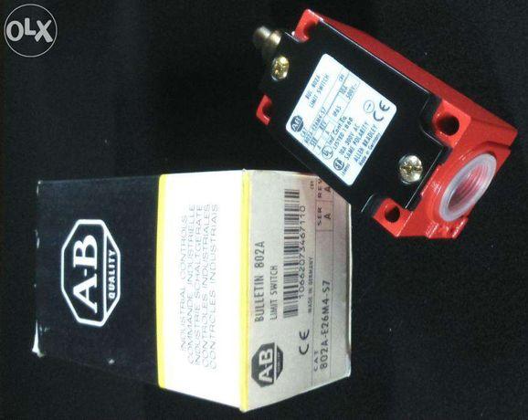 Interruptor limite fim de curso Allen Bradley 802A-E26M4-S7