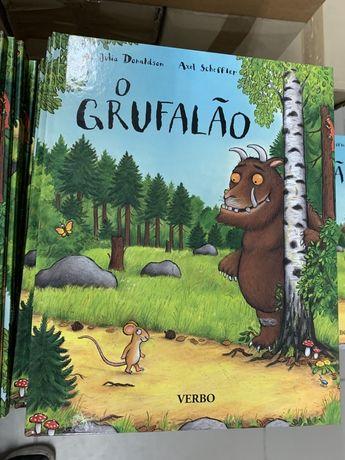 O Grufalão - LIVRO de Julia Donaldson; Tradução: Maria da Fé Peres