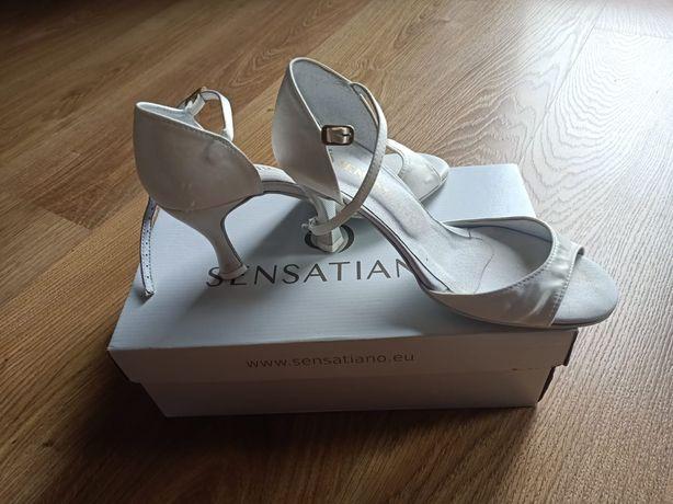 Buty ślubne / taneczne Sensatiano rozmiar 38 satynowe