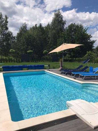 Okazja! Sprzedam bardzo nowoczesny i komfortowy dom z basenem!